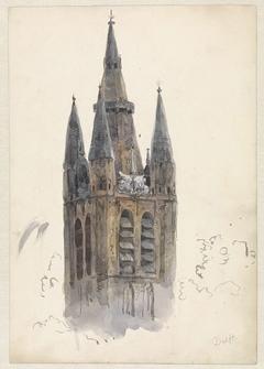 Kerktoren te Delft