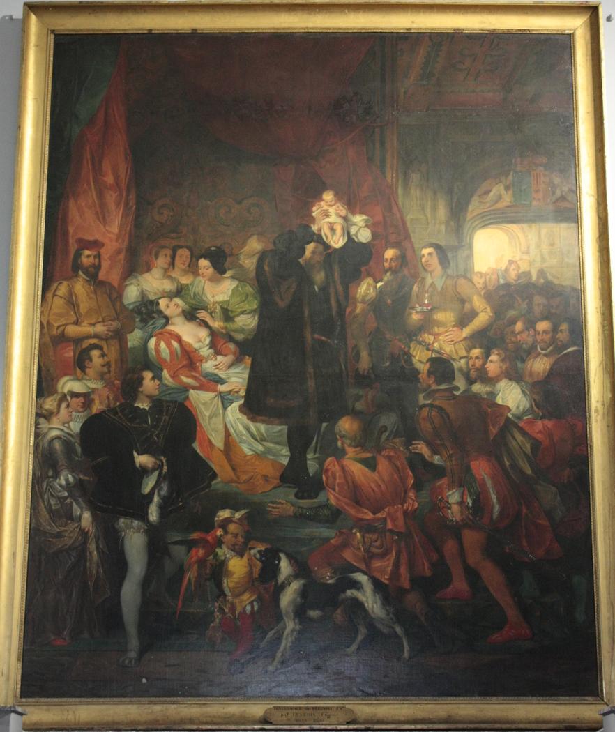 La Naissance d'Henri IV