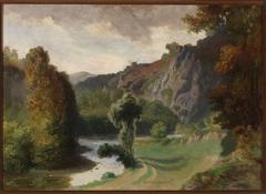Landscape from Vallée du Cousin