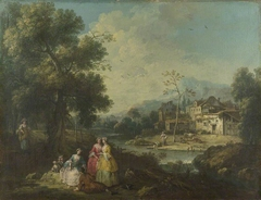 Landscape with a Group of Figures