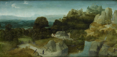 Landscape with the temptation of St Antony