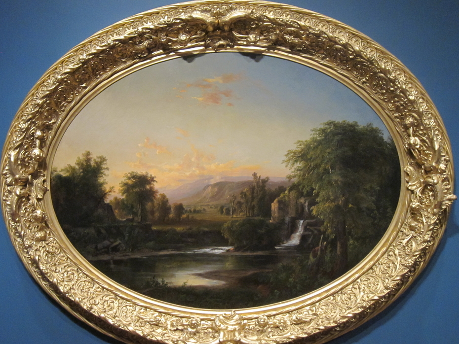 Landscape with Waterfall