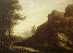 Landscape, wrongly called Hampton Cliffs, near Bath