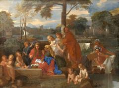 Le repos de la Sainte Famille