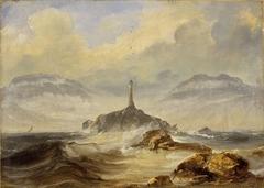 Lighthouse on the Norwegian Coast