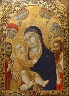 Madonna and Child with Saints Jerome, John the ...