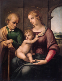 Madonna with Beardless St. Joseph