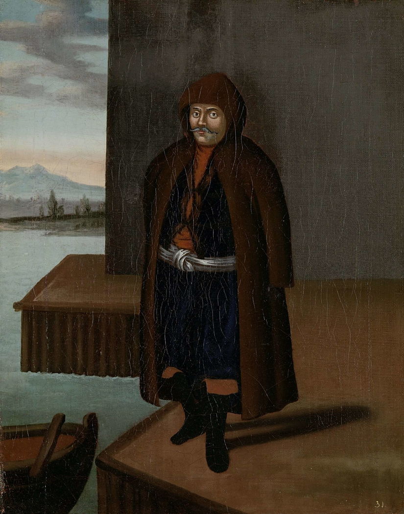 Man from the Island of Patmos