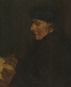 Memory Copy of Holbein's Erasmus