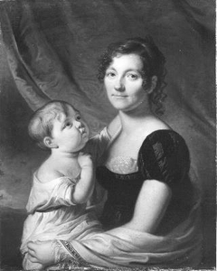 Ms. Elisabeth M. van Hoorn Smissaert (1777-1852) (wife of P.TH. of Hoorn)