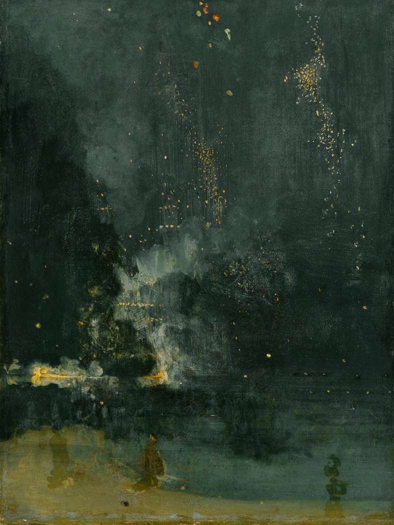 Nocturne in Black and Gold – The Falling Rocket