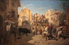 Novillada dans la province de Valence