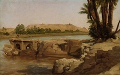 On the Nile, 1868