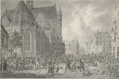 Oproer door Pruisische soldaten te Rotterdam, 1787
