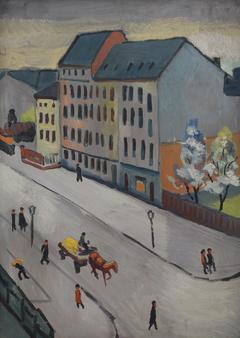 Our Street in Grau