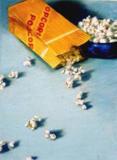"""Popcorn"" by Lydia Martin© (28""x24"") pastel on paper"