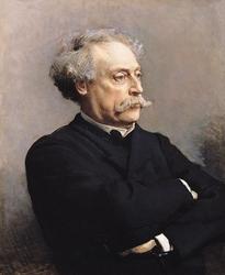Portrait d'Alexandre Dumas fils