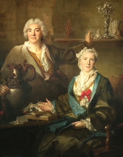 Portrait de Thomas Germain et de sa femme Anne-Denise Gauchelet