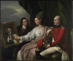 Portrait Group of the Drummond Family, Peter Auriol Drummond (1754-1799), Mary Bridget Milnes Drummond (1755-1835), and George William Drummond (1761-1807)