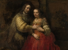 Portrait of a Couple as Isaac and Rebecca, known as 'The Jewish Bride'