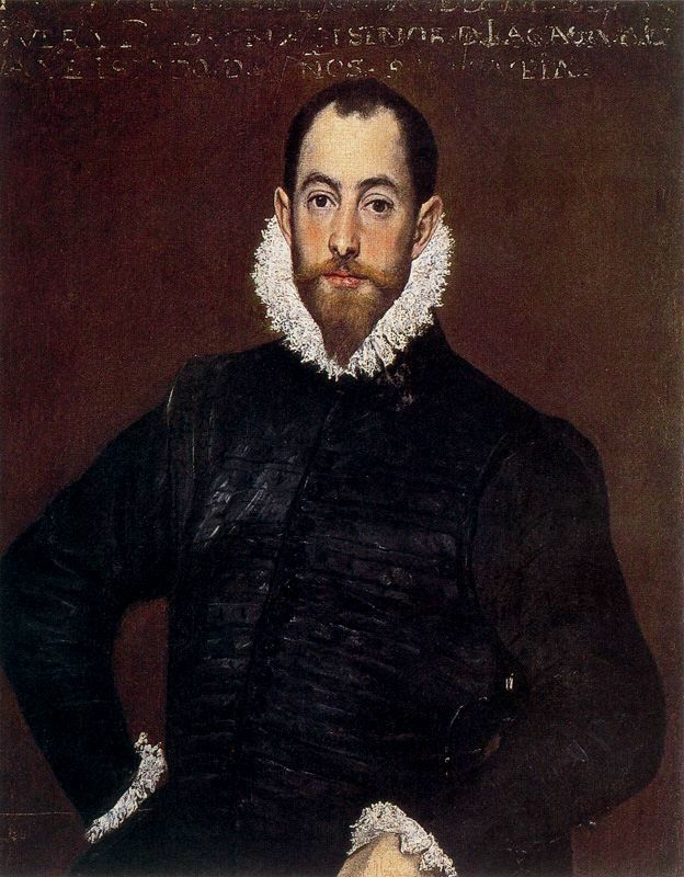 Portrait of a Gentleman from the Casa de Leiva