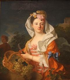 Portrait of a lady as Pomona