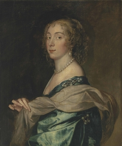 Portrait of a lady, believed to be Penelope, Lady Bayning (1620-1647), later Lady Herbert
