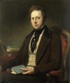 Portrait of a Man, perhaps Petrus Augustus de Genestet (1829-1861)