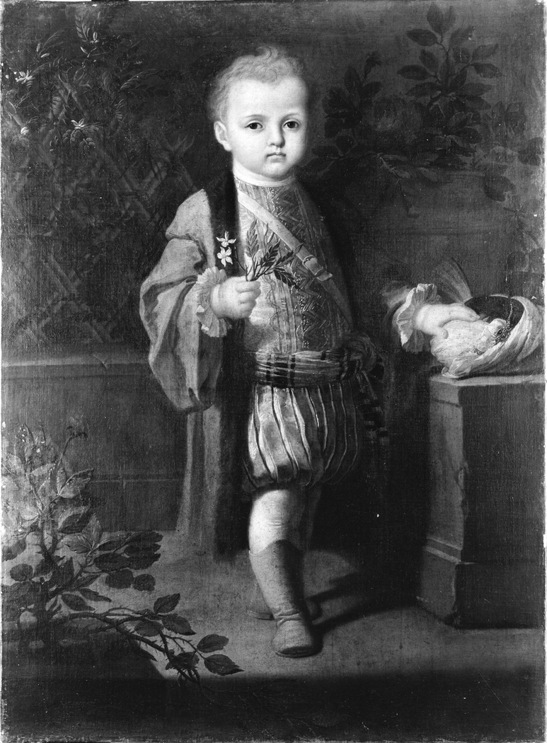 Portrait of a Noble Boy in Oriental Costume