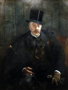 Portrait of Alfred Stevens