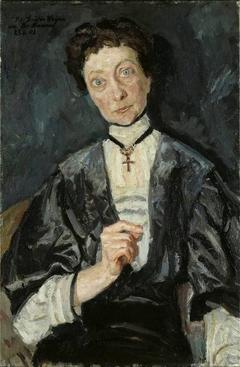 Portrait of Augusta Countess vom Hagen
