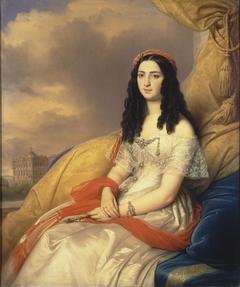 Portrait of Countess d'Ash