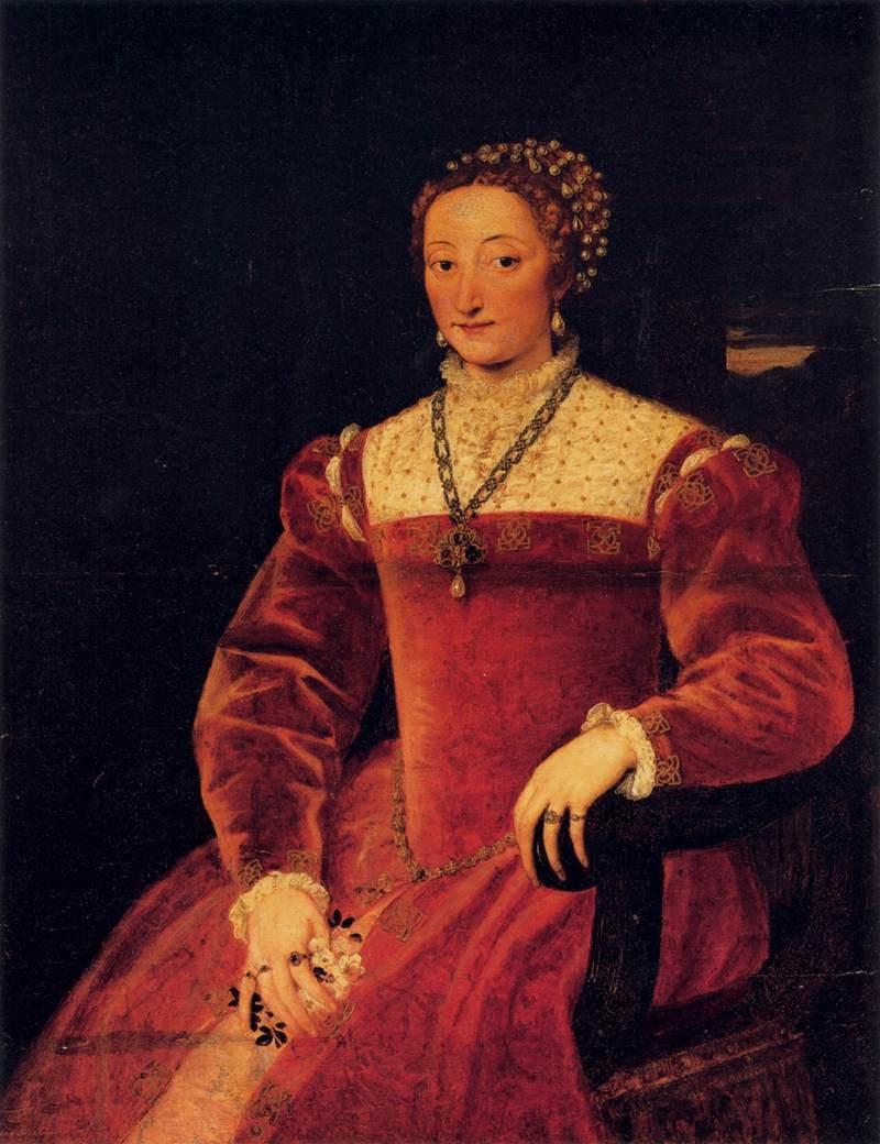 Portrait of Giulia Varano