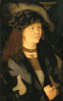 Portrait of Henri V. of Mecklenburg