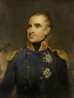 Portrait of Jonkheer Theodorus Frederik van Capellen, Vice-Admiral and Commander of the Dutch Squadron at Algiers in 1816