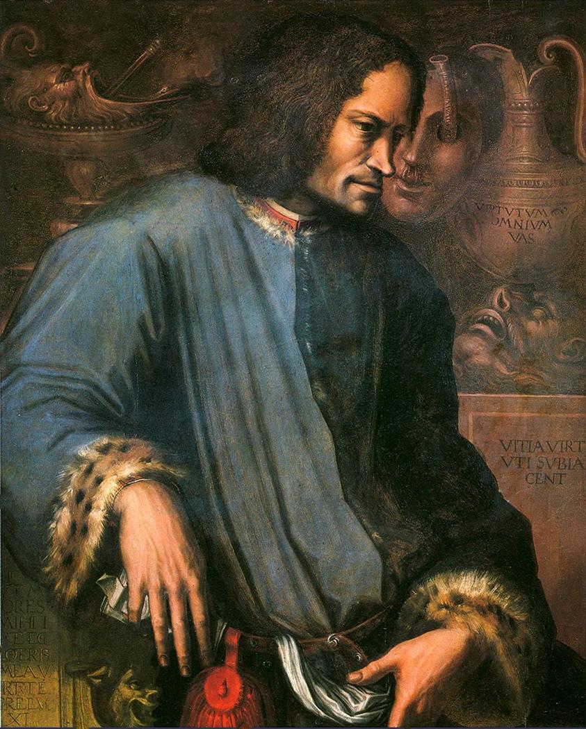 Portrait of Lorenzo de' Medici