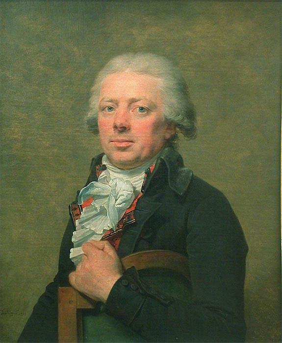 portrait of Louis-Charles Maigret