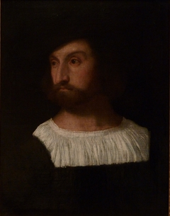 Portrait of man