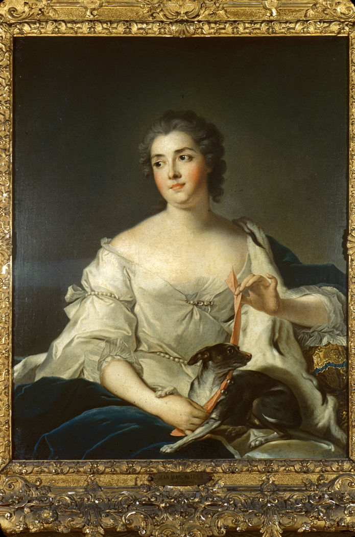 Portrait Of Marquise D'Argenson