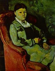 Portrait of Mme. Cézanne