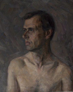 Portrait of model