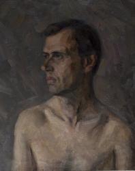 Portrait of model