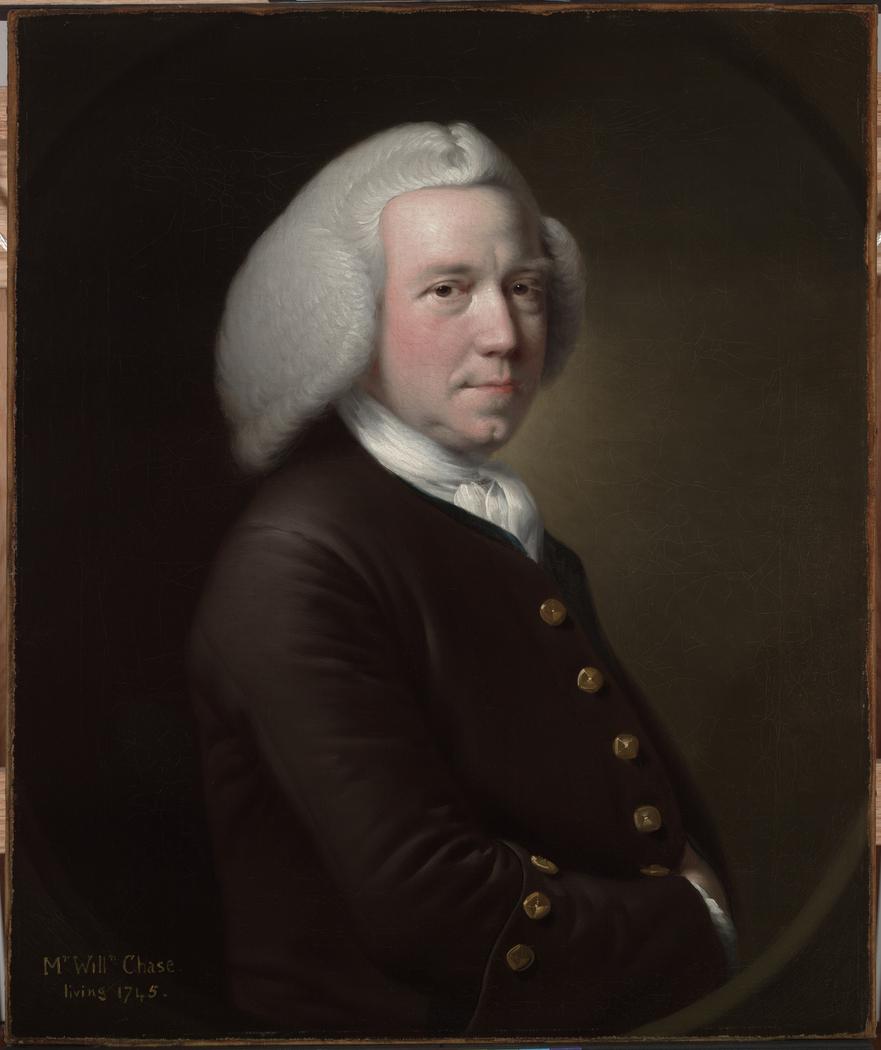 Portrait of Mr. William Chase,Sr.