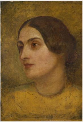 Portrait of Mrs Caroline Norton (née Sheridan),  (1808-1877), Poet