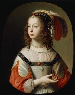 Portrait of Sophia, Princess Palatine, 1641
