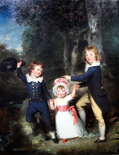 Portrait of the Children of Lord George Cavendish