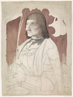 Portret van de heer van Naaldwijk