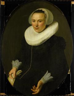 Portret van Maria Joachimsdr Swartenhont (1598-1631)