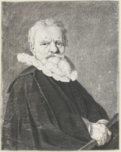 Portret van Pieter Jacobsz Schout, burgemeester van Haarlem