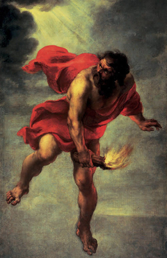 Prometheus Carrying Fire